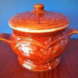 Посуда для выпечки и запекания - Горшок-жаровня Ромашка для запекания керамический, 0