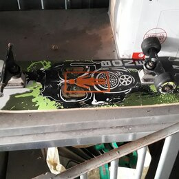 Скейтборды и лонгборды - Скейт с запчастью, 0