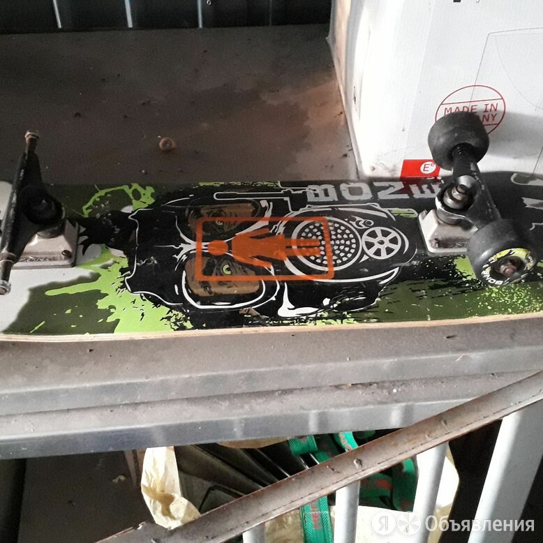 Скейт с запчастью по цене 33200₽ - Скейтборды и лонгборды, фото 0