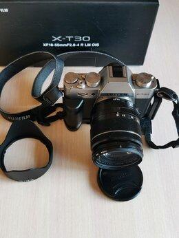 Фотоаппараты - Fujifilm X-T30 серебристый + 18-55mm f/2.8-4 R LM, 0