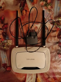 Проводные роутеры и коммутаторы - Wi-Fi роутер TP-LINK TL-WR841N с 2 антеннами, 0