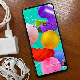 Мобильные телефоны - Смартфон Samsung Galaxy A51 4/64GB White, идеал, 0