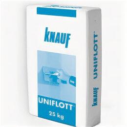 Строительные смеси и сыпучие материалы -  Шпаклевка гипсовая высокопрочная Knauf Унифлот…, 0
