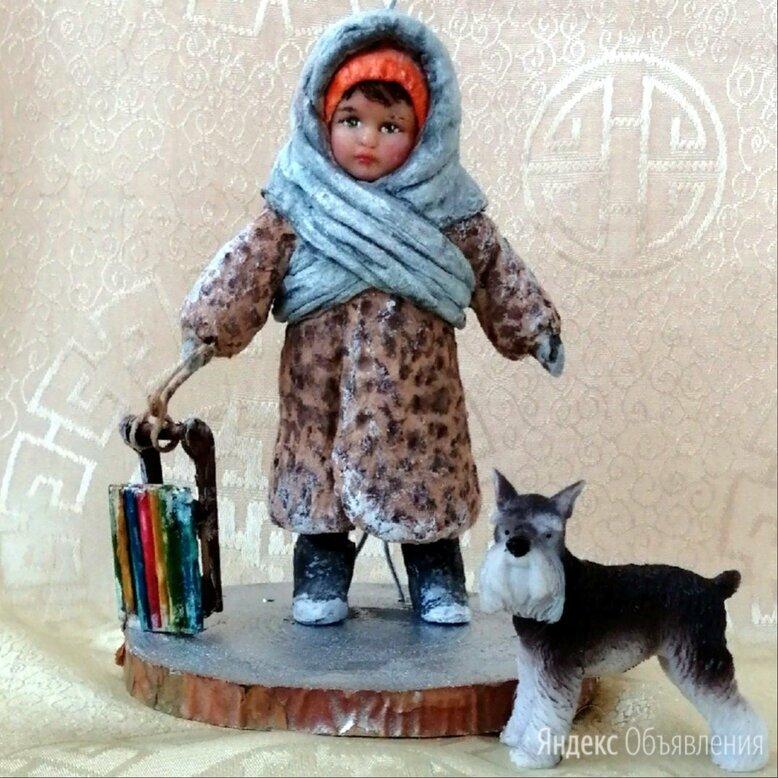 Авторская ватная игрушка на ёлку,ручной работы по цене 1500₽ - Новогодние фигурки и сувениры, фото 0