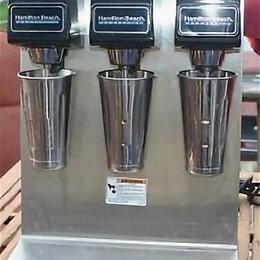 Промышленные миксеры - Миксер для молочных кокт. 3-ух стаканный HameltonBeach 1G950 б.у. (008753), 0