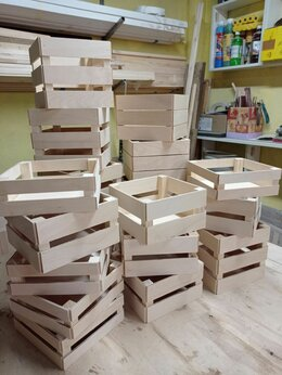 Корзины, коробки и контейнеры - Ящики декоративные, 0