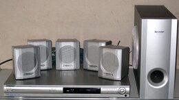 Домашние кинотеатры - CD DVD FM Sharp HT-CN410DVHR домашний кинотеатр, 0