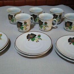 Сервизы и наборы - Китайский кофейный набор на 6 персон., 0