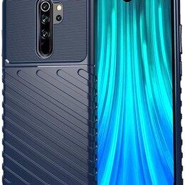 Чехлы - Чехол для Xiaomi Redmi Note 8 Pro цвет Blue (синий), серия Onyx от Caseport, 0