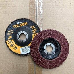 Для шлифовальных машин - Круг шлифовальный лепестковый 125х22.2 мм; P40, 0