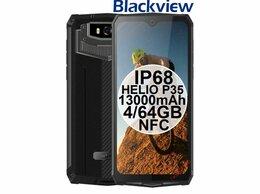 Мобильные телефоны - НОВЫЕ Blackview BV9100 IP68 13000mAh HelioP35…, 0