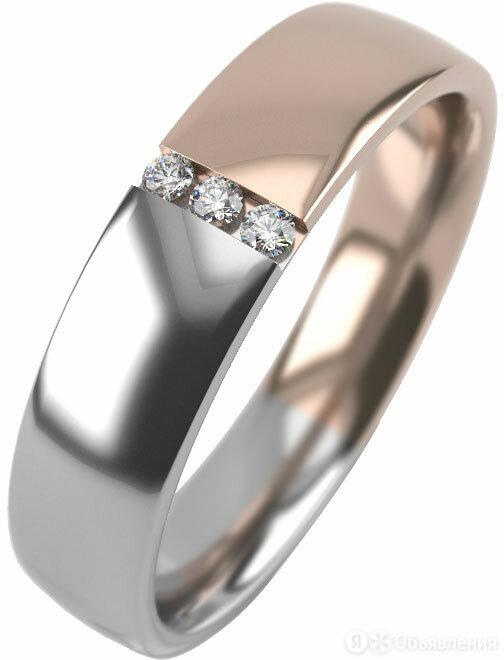Обручальное кольцо Graf Кольцов SHN1-4-3f-bk/s_15-5 по цене 2240₽ - Комплекты, фото 0