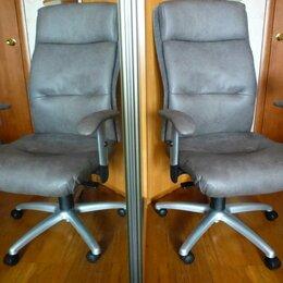 Компьютерные кресла - Кресло руководителя новая замша., 0
