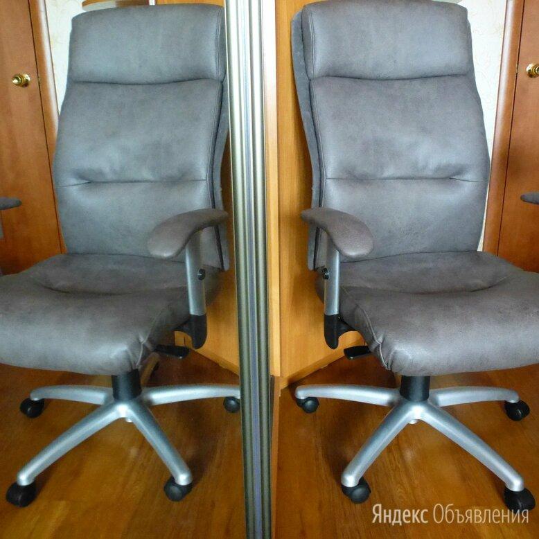 Кресло руководителя новая замша. по цене 6300₽ - Компьютерные кресла, фото 0