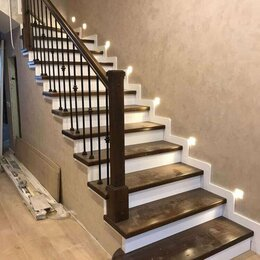 Лестницы и элементы лестниц - Облицовка бетонных лестниц деревом, 0