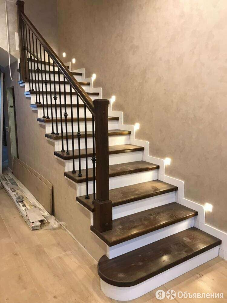 Облицовка бетонных лестниц деревом по цене 160000₽ - Лестницы и элементы лестниц, фото 0