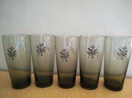 Бокалы и стаканы - Набор 5шт. бокалов из тонированного стекла…, 0