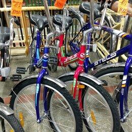 """Велосипеды - велосипед новый складной 24"""" Stels-710 подростково-взрослый, 0"""