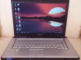 Ноутбуки - Ноутбук Toshiba 2 ядра HDD 320Gb Ram 2Gb + Игры, 0