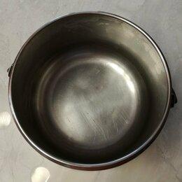Туристическая посуда - Котелок туристический из нержавейки (4 литра), 0