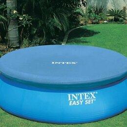 Тенты и подстилки - Тент для надувного бассейна диаметром 244 см Intex, 0