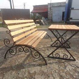 Комплекты садовой мебели - Садовая мебель, скамейка стол, 0