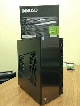 Настольные компьютеры - Мощный компьютер Core i5 9400f 8Gb SSD, 0