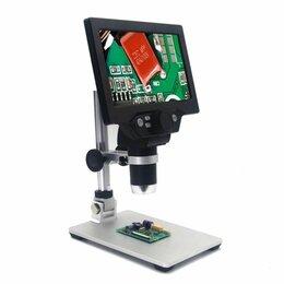 """Микроскопы - Цифровой микроскоп 7""""дюймов G1200 12MP 1-1200X, 0"""