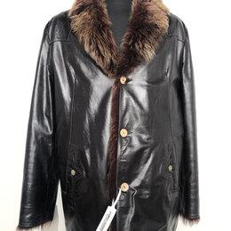 Куртки - Куртка мужская натуральная кожа на меху р.52-54 /10616/, 0
