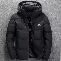 Пуховики - Куртка пуховик зима адидас , 0
