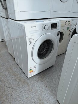 Стиральные машины - (8кг) SAMSUNG с гарантией стиральная машинка, 0