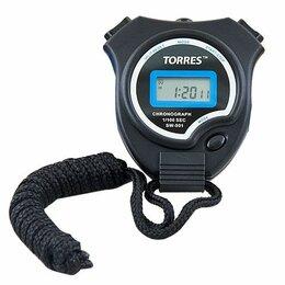 Секундомеры - Секундомер «TORRES Stopwatch», арт.SW-001, часы, будильник, дата, черно-синий, 0