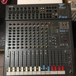Микшерные пульты - Микшерный пульт soundcraft spirit fx8, 0