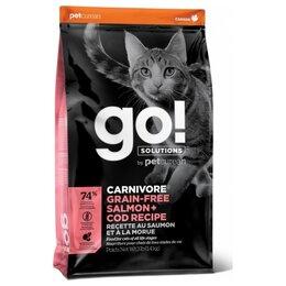 Корма  - Go! Cat Carnivore Salmon Cod Recipe 1,36 кг, 0