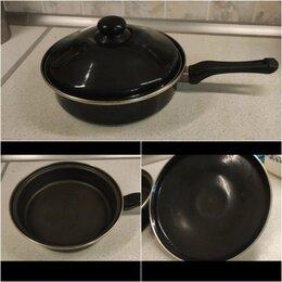 Сковороды и сотейники - Сковорода с антипригарным покрытием, 0