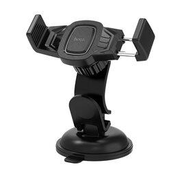Держатели мобильных устройств - Держатель в авто HOCO CA40 Refined черный, 0