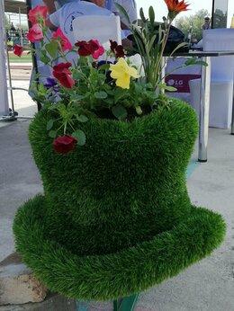 Горшки, подставки для цветов - Декоративный вазон (топиари) для цветов тов, 0