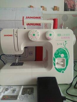 Швейные машины - Новая швейная машина Janome S - 19 Нижний Новгород, 0