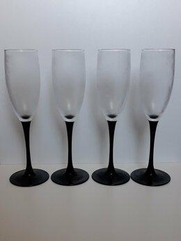 Бокалы и стаканы - Фужеры для шампанского 4шт., 0