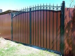Заборы и ворота - Ворота распашные, 0
