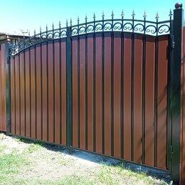 Заборы, ворота и элементы - Ворота распашные, 0