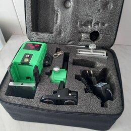 Измерительные инструменты и приборы - Лазерный уровень алмаз 3/360 зелёный, 0