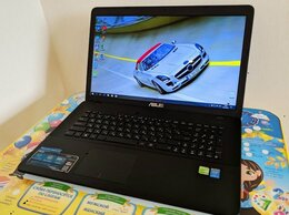 Ноутбуки - Игровой 17 Asus Core i5 8GB SSD256GB GF940m 2GB, 0