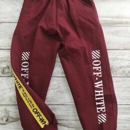 Брюки - Спортивные штаны подростковые на 7-8 лет новые, 0
