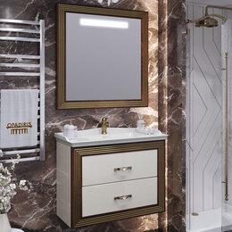 Готовые строения - Мебель для ванной Opadiris Карат 80 золото, 0