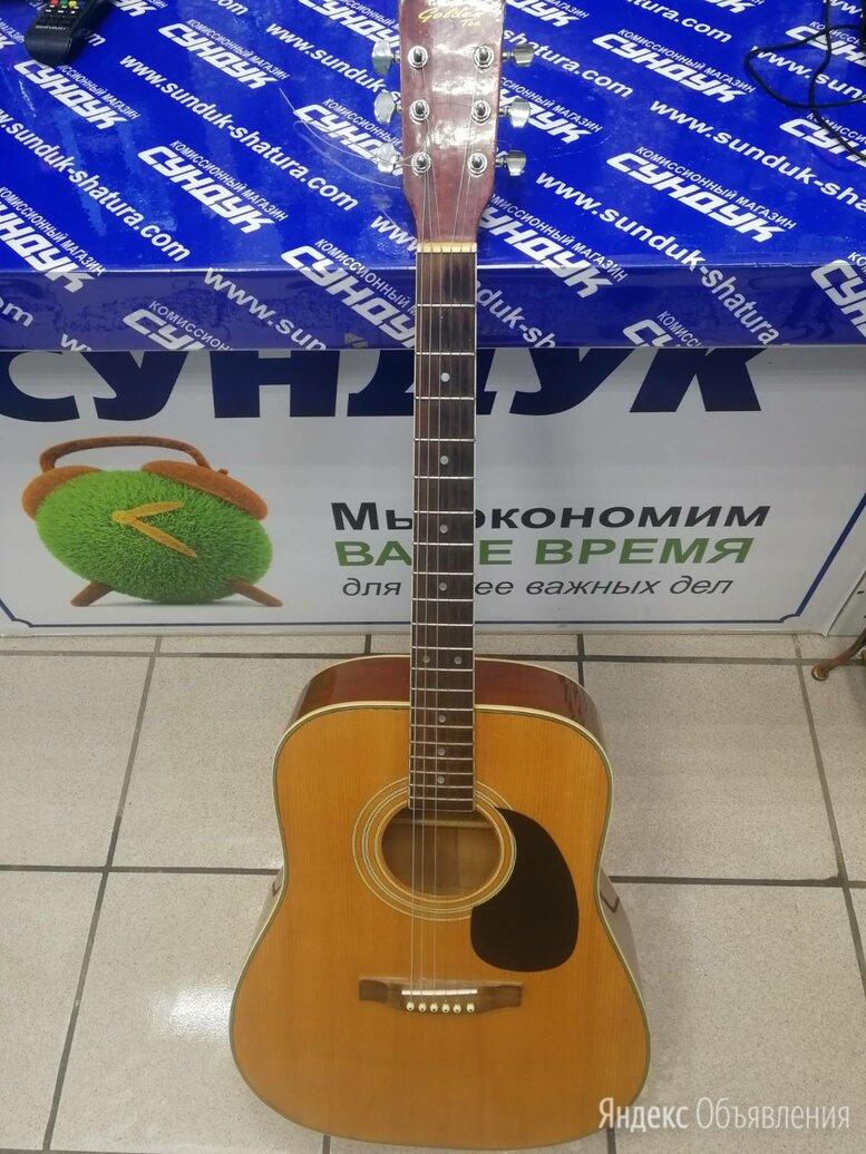 Гитара акустическая Golden Ton (германия) по цене 8000₽ - Акустические и классические гитары, фото 0