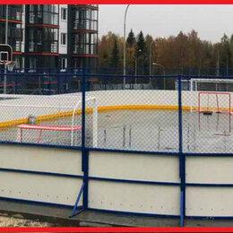 Аксессуары - Хоккейная коробка 20 на 40 стеклопластик 5 и 7мм, 0