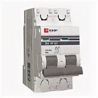 Защитная автоматика - Выключатель автоматический модульный 2п C 2А…, 0