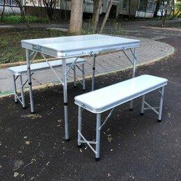 Походная мебель - Стол туристический со скамейками, 0