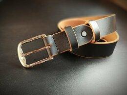 Ремни и пояса -  Классический кожаный ремень ручной работы, 0